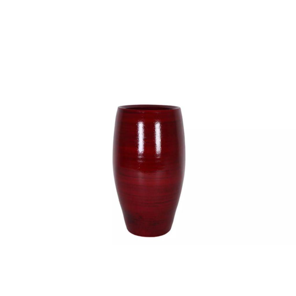 Deep Red Aanbieding.Aanbieding Vaas Cresta Caramel D20 H30 Ts Met Korting