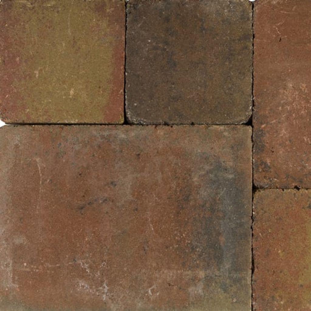 Afbeelding van Gardenlux 10 stuks! Tambourises brique brons 30x40x5 cm