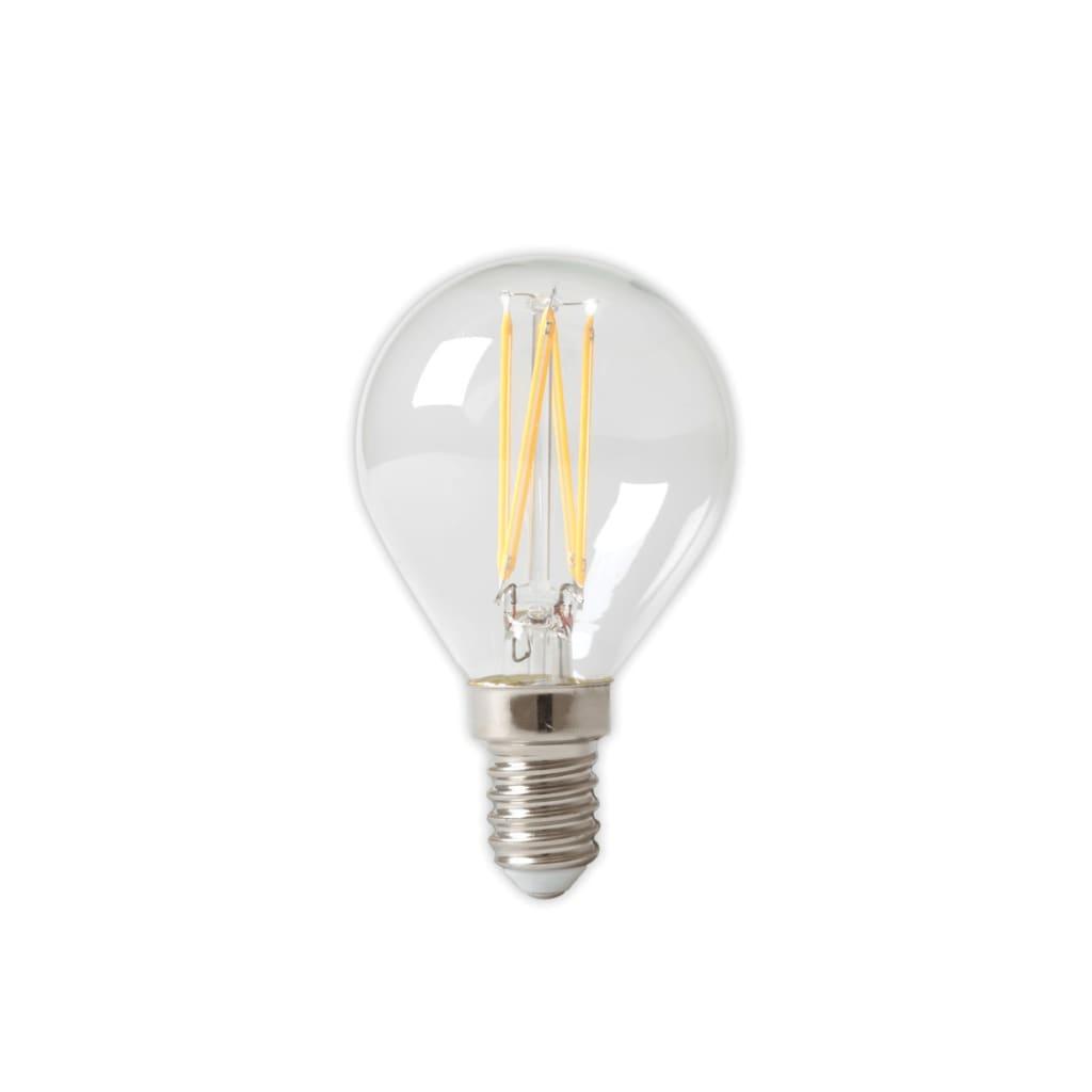 Afbeelding van Calex 3 stuks LED volglas Filament Kogellamp 240V 3,5W 350lm E14 P45,