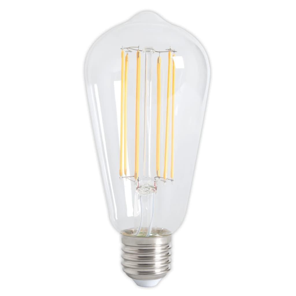 Afbeelding van Calex 2 stuks LED volglas Lang Filament Rustieklamp 240V 4W 350lm E27