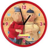 Buurman en Buurman klok Buurman en Buurman 25 cm rood