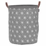 Sealskin Cesto para la ropa sucia Triangles gris 60 L 361882012