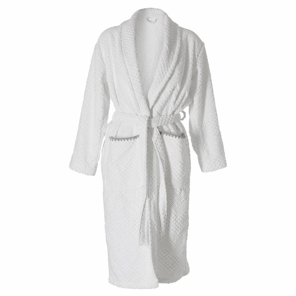 Afbeelding van Sealskin Badjas Porto dames maat XL wit 16361348010