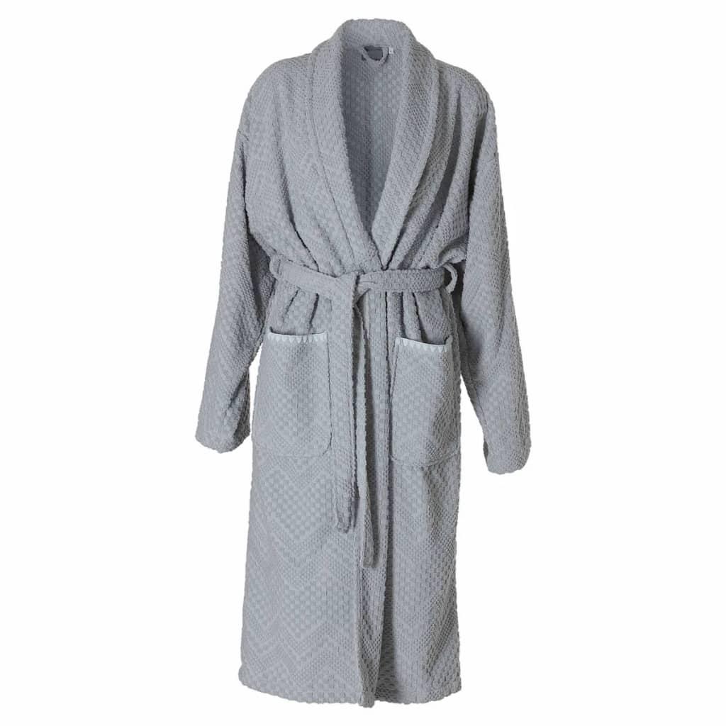 Afbeelding van Sealskin Badjas Porto dames maat XL grijs 16361348011