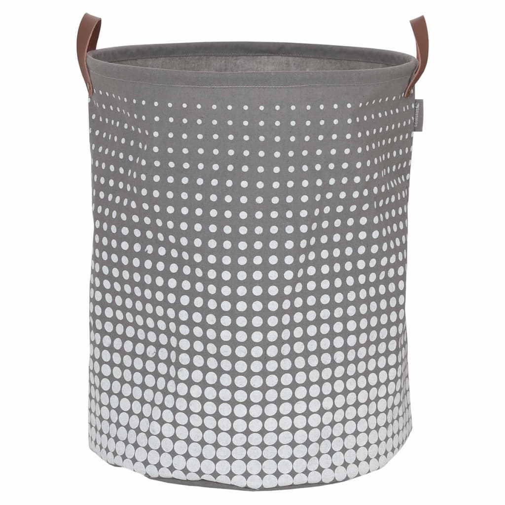 Afbeelding van Sealskin Wasmand Speckles grijs 60 L 361892012