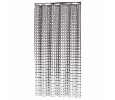 Sealskin Douchegordijn Speckles 180 cm grijs 233601314