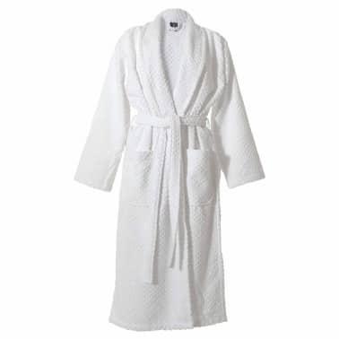 acheter sealskin peignoir porto pour hommes taille l blanc 16361348810 pas cher. Black Bedroom Furniture Sets. Home Design Ideas