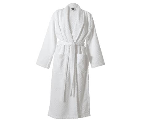 sealskin bademantel sauna morgen mantel porto herren gr xl wei 16361349010 ebay. Black Bedroom Furniture Sets. Home Design Ideas