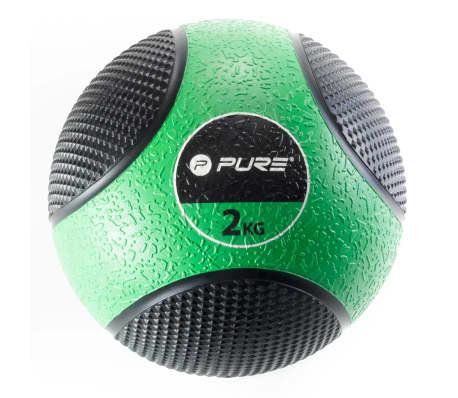 Pure2Improve Medizinball 2 kg Grün