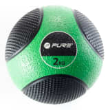 Pure2Improve Ballon médicinal 2 kg Vert