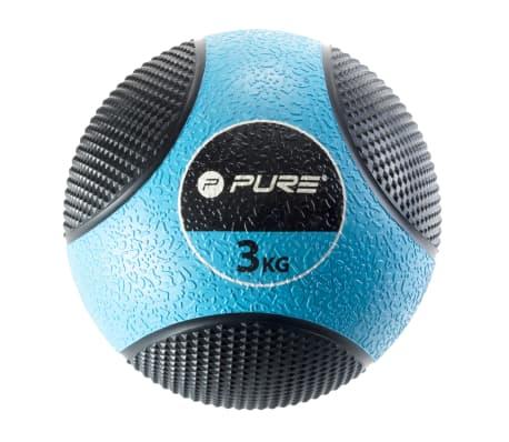 Pure2Improve Medizinball 3 kg Blau