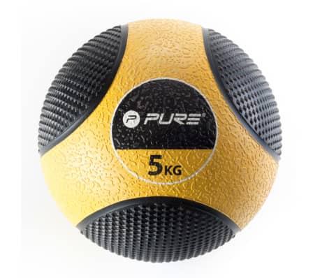 Pure2Improve Medizinball 5 kg Gelb