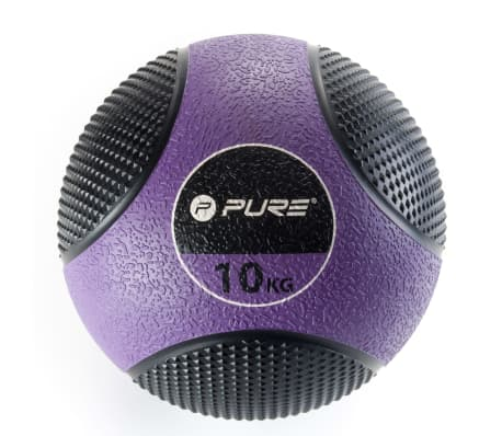 Pure2Improve Medizinball 10 kg Lila