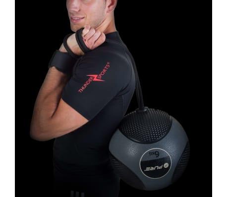 Pure2Improve Medisinball med tau 6 kg grå[14/14]