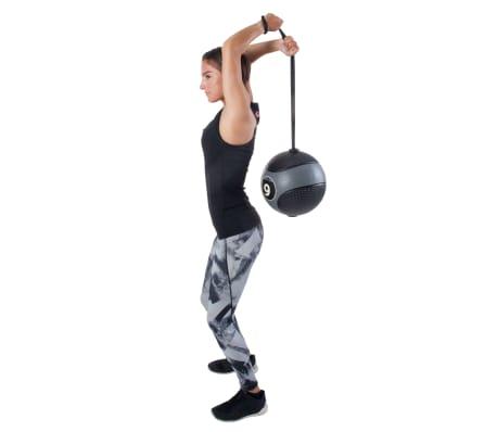 Pure2Improve Medisinball med tau 6 kg grå[6/14]