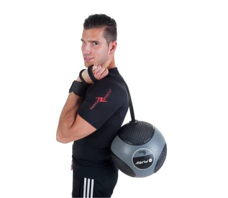 Pure2Improve Medisinball med tau 6 kg grå[9/14]