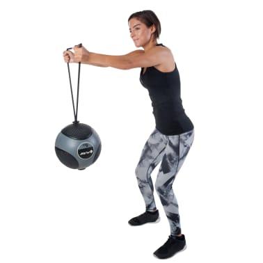 Pure2Improve Medisinball med tau 6 kg grå[7/14]
