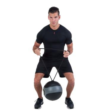 Pure2Improve Medisinball med tau 6 kg grå[8/14]