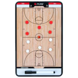 Pure2Improve Doppelseitiges Coach-Board Basketball 35×22 cm P2I100620
