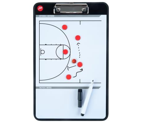 Pure2Improve dobbeltsidet basketballtrænertavle 35 x 22 cm P2I100620[5/7]