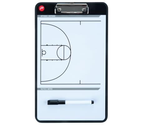 Pure2Improve dobbeltsidet basketballtrænertavle 35 x 22 cm P2I100620[6/7]