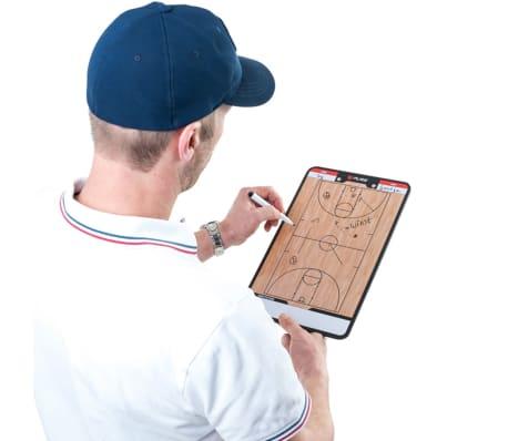 Pure2Improve dobbeltsidet basketballtrænertavle 35 x 22 cm P2I100620[7/7]