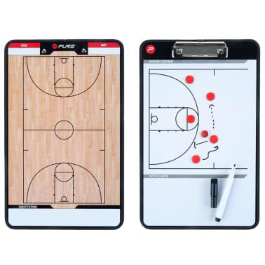 Pure2Improve dobbeltsidet basketballtrænertavle 35 x 22 cm P2I100620[4/7]