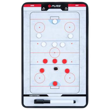 Pure2Improve Dwustronna tablica trenerska do hokeja na lodzie, 35x22cm[1/7]