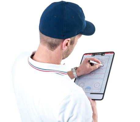 Pure2Improve Dwustronna tablica trenerska do hokeja na lodzie, 35x22cm[7/7]