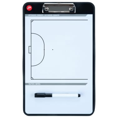 Pure2Improve Pizarra táctica de fútbol sala 2 caras 35x22 cm P2I100650[7/7]