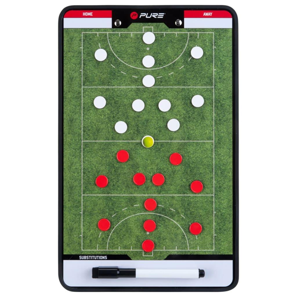 Pure2Improve Planșă tactică antrenor de hochei 35 x 22 cm