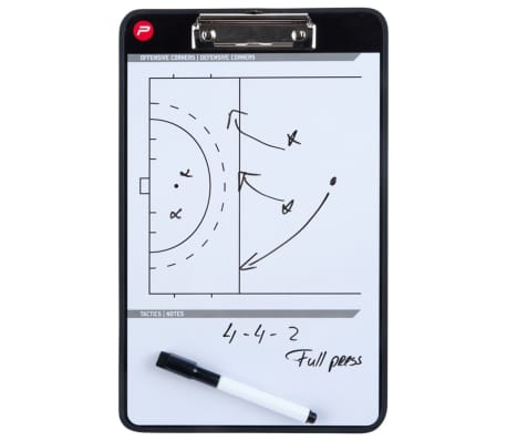 Pure2Improve Tableau d'entraîneur Hockey 35x22 cm P2I100660[7/7]