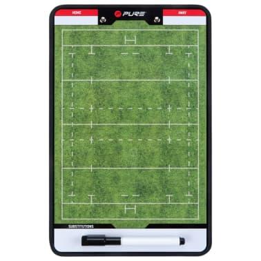 Pure2Improve Pizarra de entrenador de rugby 2 caras 35x22 cm P2I100670[3/6]