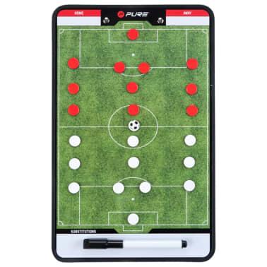 Pure2Improve Pizarra de entrenador fútbol 2 caras 35x22 cm P2I100680[1/7]