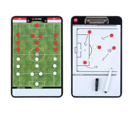 Pure2Improve Pizarra de entrenador fútbol 2 caras 35x22 cm P2I100680[4/7]