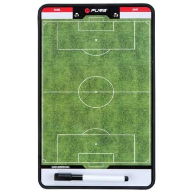 Pure2Improve Pizarra de entrenador fútbol 2 caras 35x22 cm P2I100680[3/7]