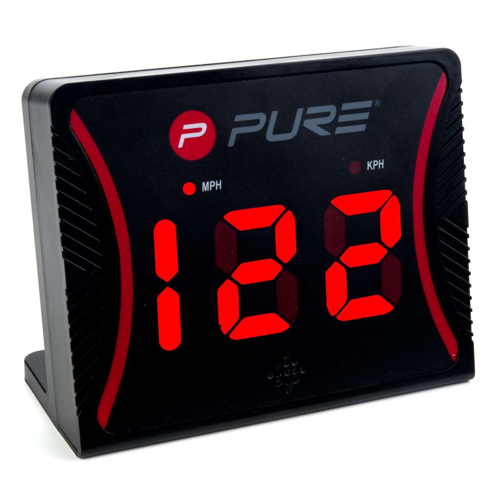 Pure2Improve Radar de viteză, negru, plastic imagine vidaxl.ro
