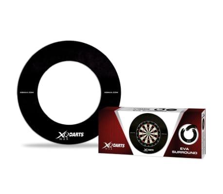 XQmax Darts Zaščita za pikado EVA črne barve QD7300410[1/2]