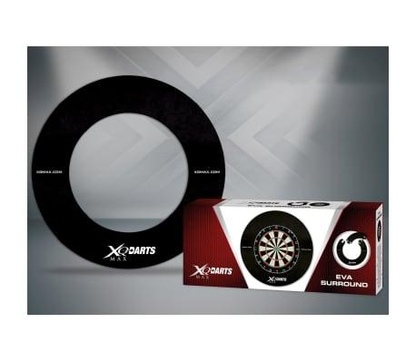 XQmax Darts Zaščita za pikado EVA črne barve QD7300410[2/2]