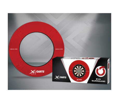 XQmax Darts Zaščita za pikado EVA rdeča QD7300420[2/2]