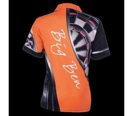XQmax Darts T-shirt réplique de match BvdP Orange Taille XS QD9200210[3/6]