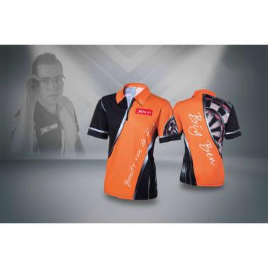 XQmax Darts T-shirt réplique de match BvdP Orange Taille XS QD9200210[4/6]