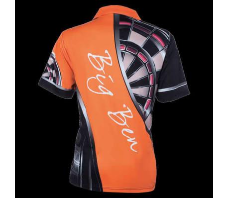 XQmax Darts Réplica de camiseta BvdP naranja talla XL QD9200250[3/6]