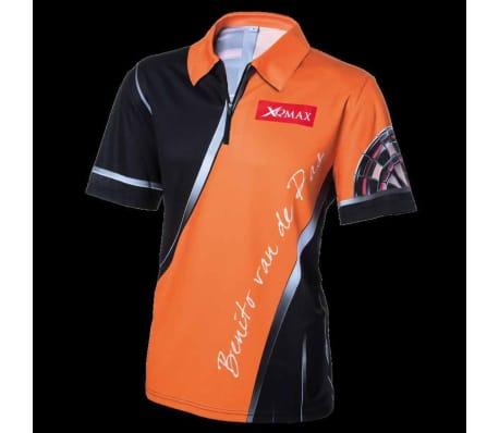 XQmax Darts T-shirt réplique de match BvdP Orange Taille XXL QD9200260[2/6]