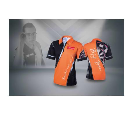 XQmax Darts T-shirt réplique de match BvdP Orange Taille XXL QD9200260[4/6]