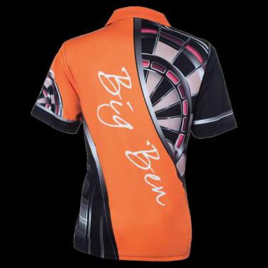 XQmax Darts T-shirt réplique de match BvdP Orange Taille XXL QD9200260[3/6]