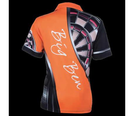 XQmax Darts T-shirt réplique de match BvdP Orange Taille XXXL QD9200270[3/6]