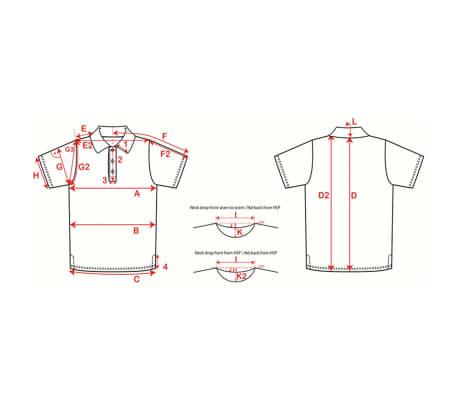 XQmax Darts T-shirt réplique de match BvdP Orange Taille XXXL QD9200270[6/6]
