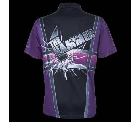XQmax Darts T-shirt Andy Hamilton Violet Taille XS QD9200310[3/6]