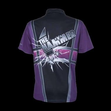 XQmax Darts Réplica de camiseta Andy Hamilton morada S QD9200320[3/6]
